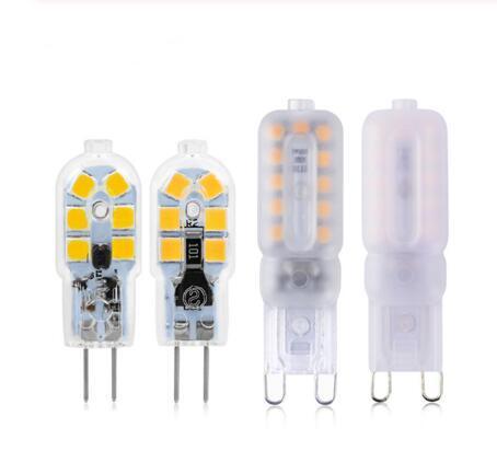 G4 G9 Lâmpada LED 3W 5W Mini Lâmpada LED AC 220V DC 12V SMD2835 Spotlight Chandelier alta qualidade de iluminação substituir as lâmpadas de halogéneo