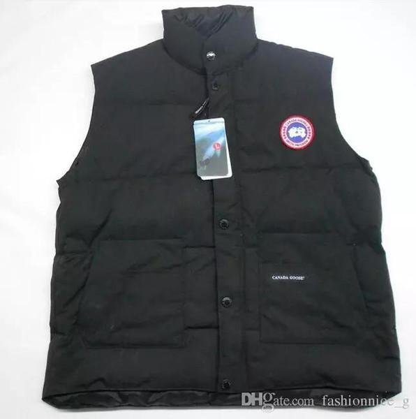 New fashion Canadian Slim men's down jacket vest vest jacket women waistcoat short paragraph unisex casual coat