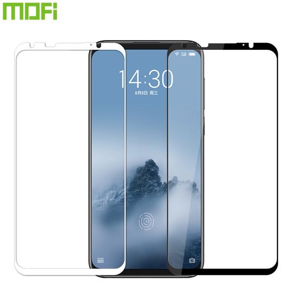 Meizu atacado 16 além de vidro temperado 2.5d cobertura completa filme de vidro temperado para meizu 16 plus protetor de tela película protetora