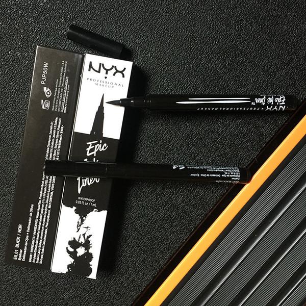 NYX Epic Ink Liner NYX EYELINER PENCIL Negro NYX Epic Ink Liner Lápiz delineador de ojos con maquillaje lápiz Negro Color líquido delineador de ojos en stock