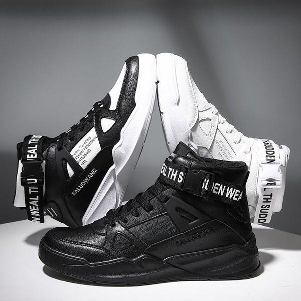 Mode Hommes Chaussures Casual Baskets TSOP Tendance Homme Chaussures de marque confortable marche en cuir respirant Hommes Noir