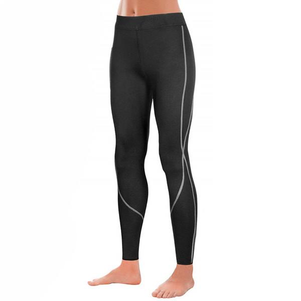 new women neoprene sauna waist trainer slimming pants weight loss heat sweat body shaper capri for fat burner leggings underwear