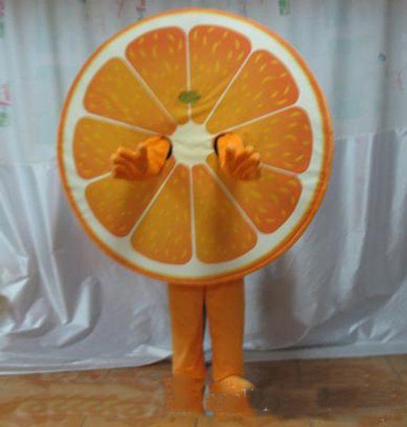 2019 High quality fruit mascot costume orange mascot costume for adult to wear