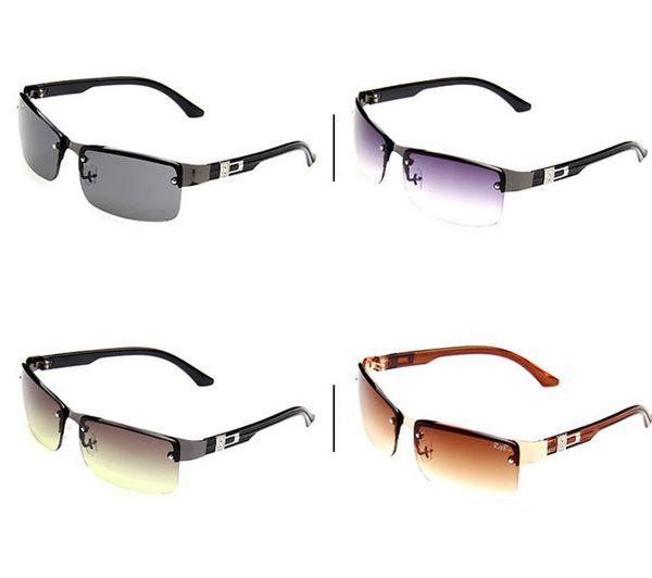 Night Vision Goggles Mens Sunglasses High Quality Driving Eyewear Designer Sunglasses Half Frame Outdoor UV400 Sun Glasses Hot Sale