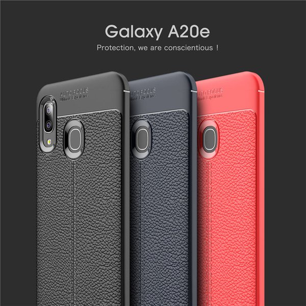 Litchi Leather PU Texture Cell Phone Cases For Samsung Galaxy A20E A10 A30 Google Pixel 3 XL Lite Moto G7 Power Premium Covers