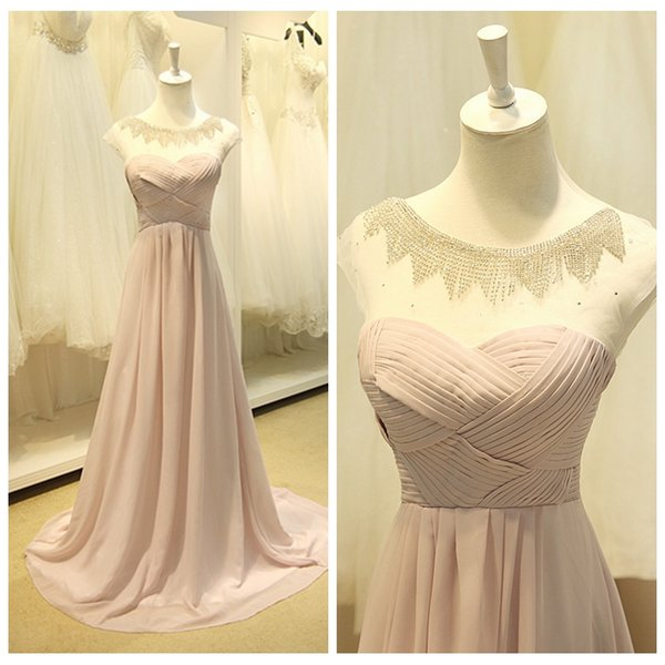 Elegant Pale Pink Mother Of The Bride Plus Size Dresses Crystals Beading  Special Occasion Dress Zipper Up Back Cheap Wedding Guest Dresses Clearance  ...