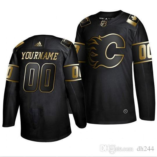 Blackhawks Anaheim Ducks hockey sur mesure Arizona Coyotes Bruins de Boston Sabres de Buffalo Flames de Calgary Hurricanes de la Caroline Jersey navyCu