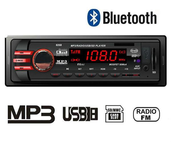 FM Radyo Araç Radyo Stereo Araç MP3 DIY Hoparlör Modülü Bluetooth Deşifreler Kablosuz Alıcı Ses Adaptörü SD Kart AUX Adaptörü