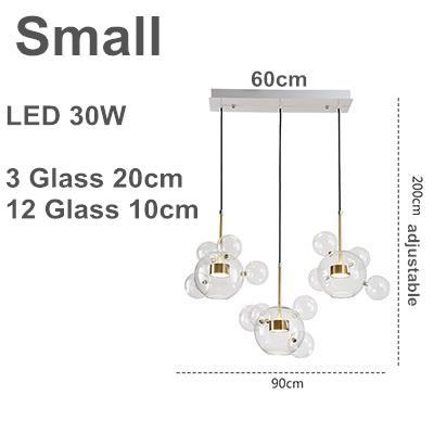 3 lampade da 20 cm A