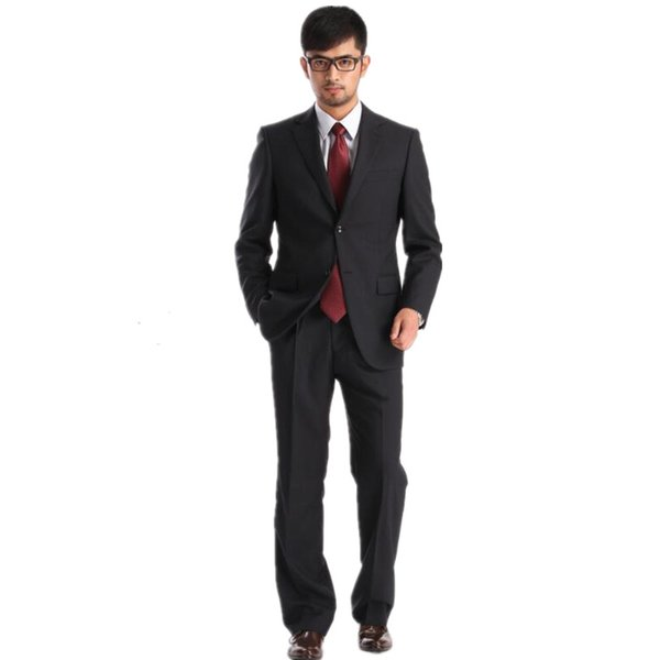 2019 fashion Mens Suits Wedding Groom suit two-piece high quality custom wedding the groom's best man suit