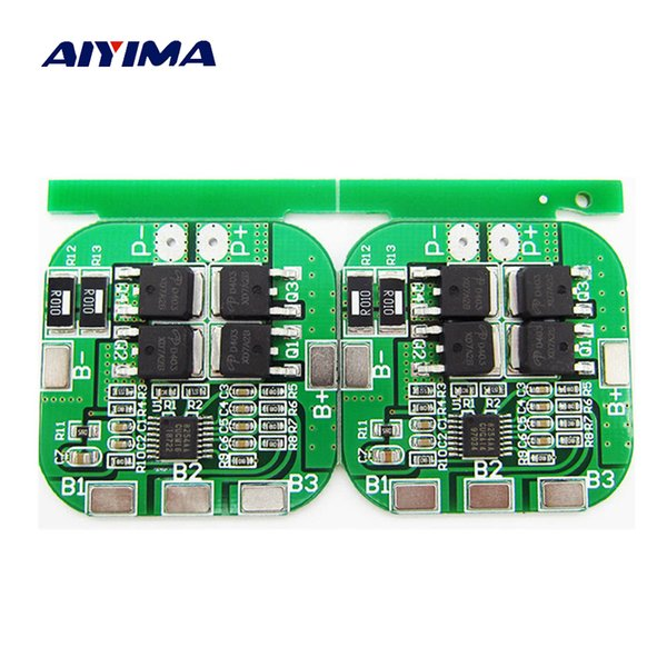 attery 18650 Aiyima 2PC 4S 14.8V 20A High Current Li-ion Lithium Battery BMS 18650 Charger Protection Board 16.8V Overcharge Over Short C...