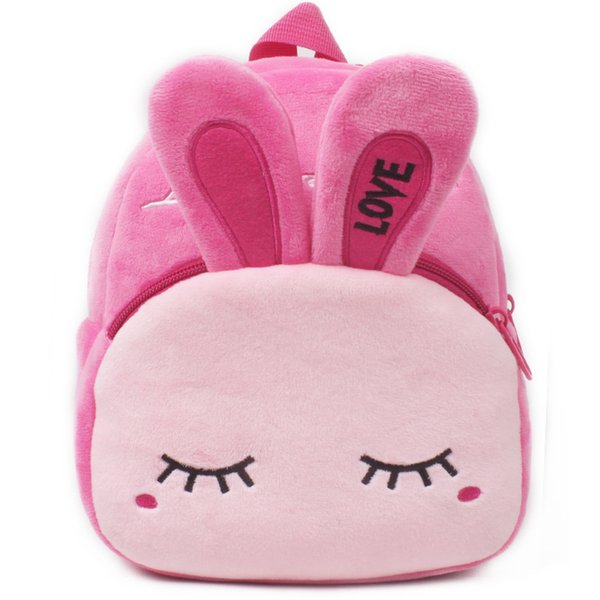 Cute Baby Girls Backpack Cartoon Plush Kids School Backpack Kindergarten School Bags Mochilas Escolar Infantil Pt991