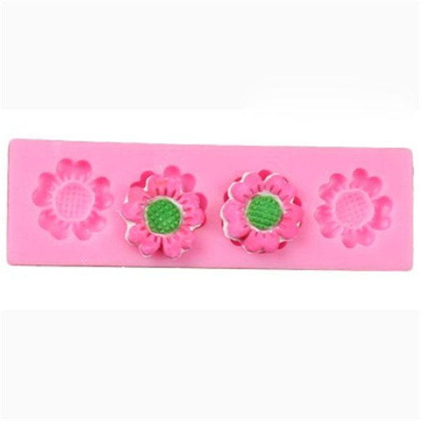 3D Flower Silicone Mold Fondant Cake Decorating Chocolate Sugarcraft Mould DIY Supply Baking Molds