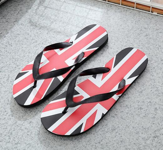 Hot trend, comfortable and casual men's sandals, feet, slip, wear, fashion, men's herringbone, sandals and slippers, size 40 - 44
