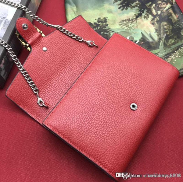 Classic ladies single shoulder bag chain bag fashion luxury leather design, small capacity, large carrying convenience number:401231 +4