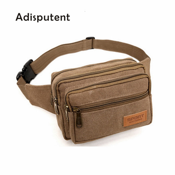 Adisputent Casual Hip Men cintura Bum Bag Belt saco do telefone Capa Para Mulheres Homens Viagem cintura Bag Qualidade