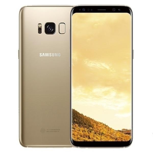 Téléphone portable débloqué RAM de 4 Go d'origine Samsung Galaxy S8 S8 Plus ROM 4 Go ROM 4GB Android 7.0 5.8