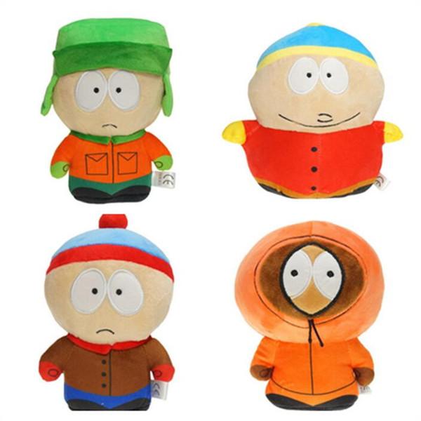 South Park Serisi 1 Takım 7-8 '' / 18-20 cm Dropship Mini Aksiyon Figürleri Peluş Bebek Koleksiyon Oyuncak çocuk Hediye Setleri