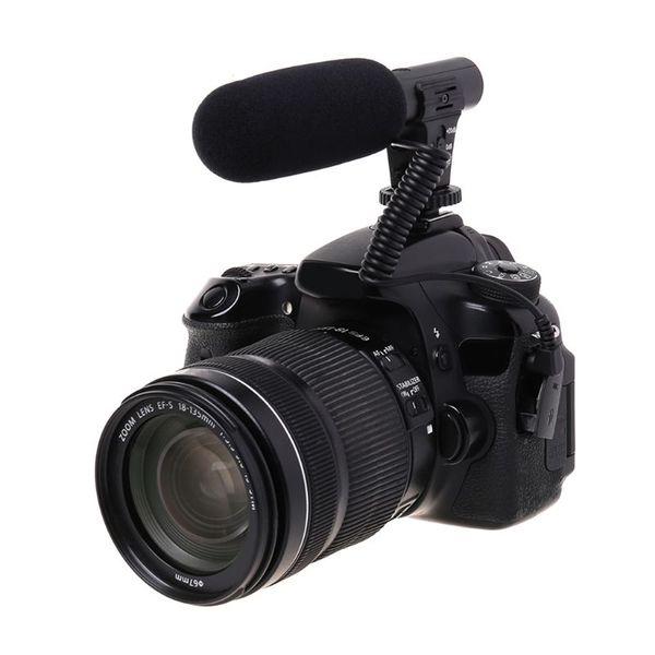 Hypercardioid Microphone 3.5mm Digital Talk Recording Video Interview for SLR DSLR Camera Hifi Audio HD Mini Mic
