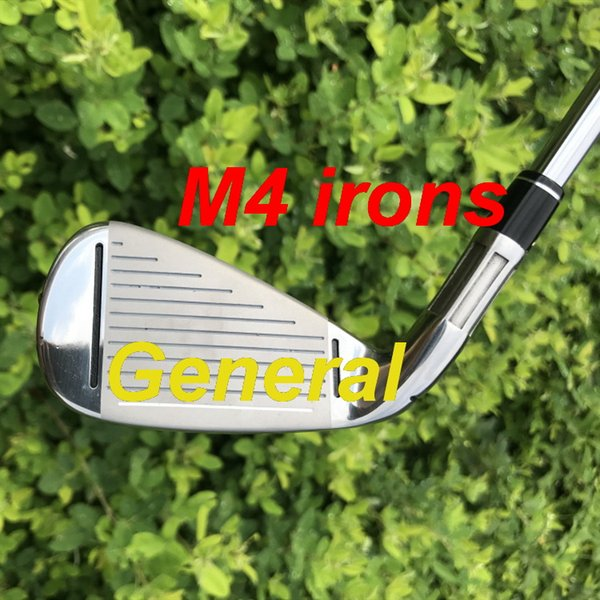 general golf irons new m4 irons( 4 5 6 7 8 9 p s ) 8pcs iron set with kbs tour 90 steel shaft golf clubs