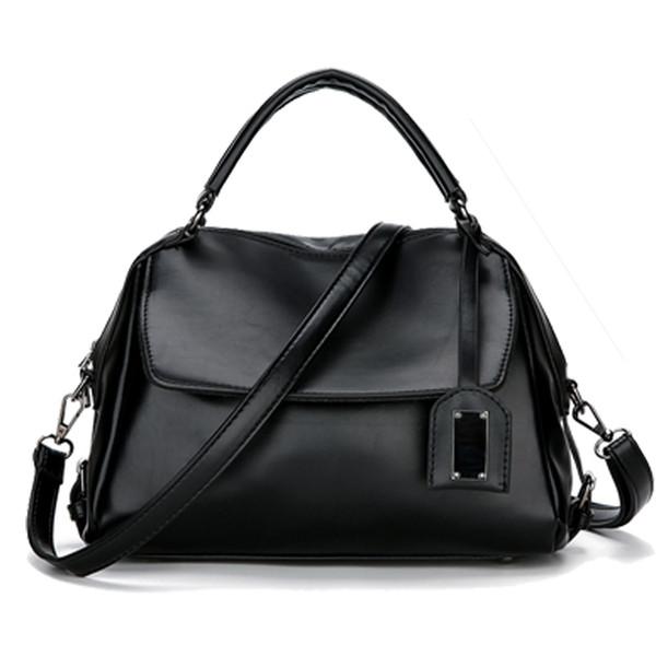 2019 New Fashion Handbags European And American Fashion Oil Wax Leather Shoulder Diagonal Package