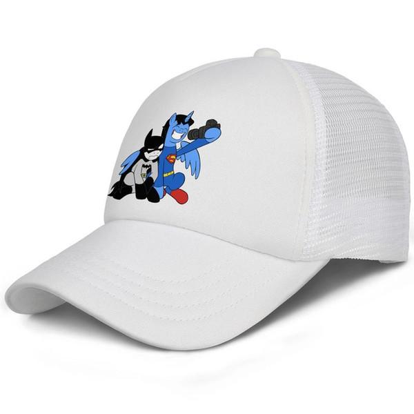Cute Batman and Superman Photo Selfie kids baseball caps Classic Teen baseball cap Twill white cap fashion baseball caps hats