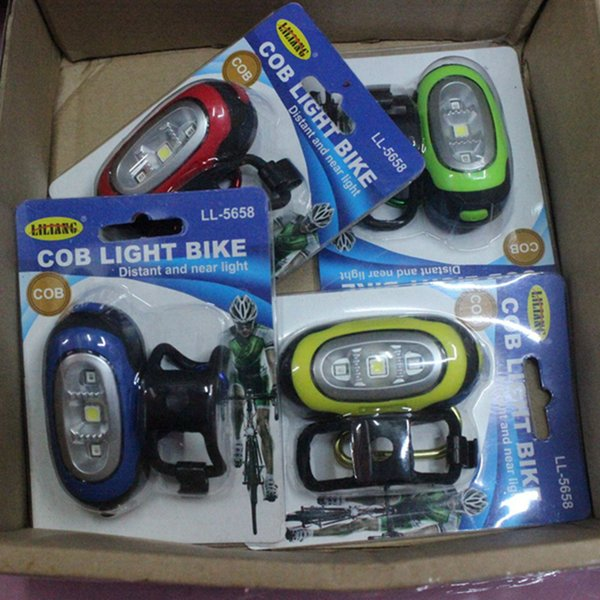 LED three-in-one keychain light patch light electronic lamp gift tool lamp COB bicycle headlights 5 colors LJJZ63