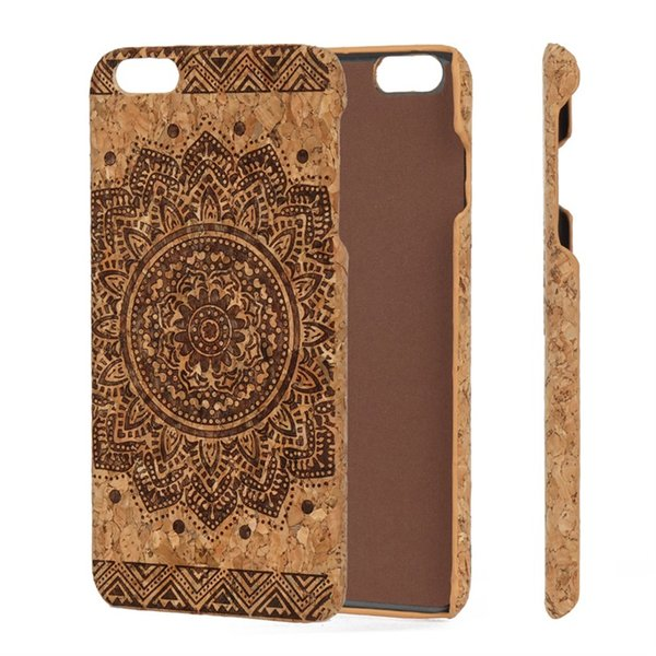 Genuine Wood Phone Case Soft Thin Cork Mobile Phone Case For iPhone 6 7 8Plus X XS XR Max