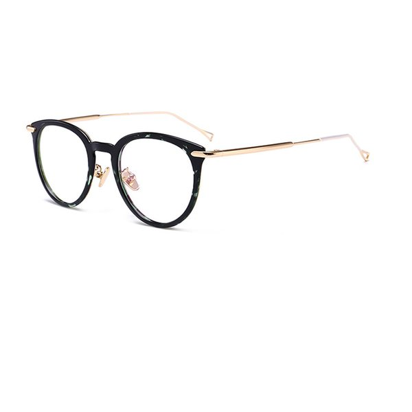 New Fashion Eyewear PC Metal Material Optical Frame Man Woman Double Colors Design Free Shipping High Quality R954