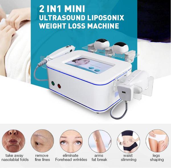 2019 NEWEST !!! hifu High intensity focused ultrasound liposonix fat burning Machine hifu wrinkle removal anti-aging facial beauty equipment