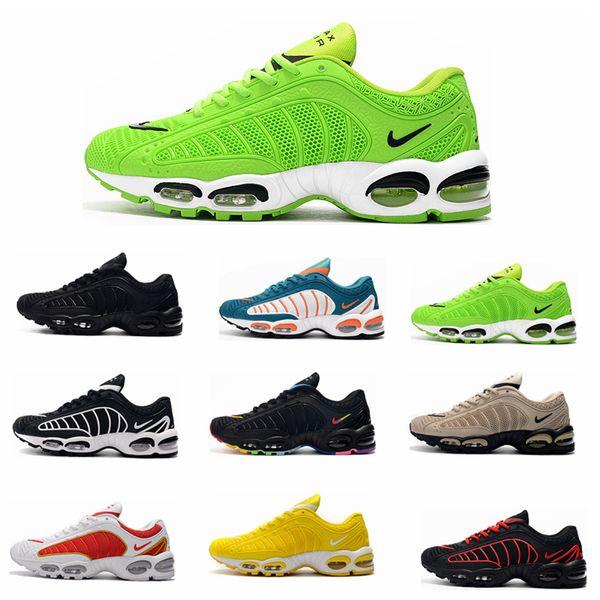Ücretsiz Kargo Yeni Erkek Ayakkabı Sneakers TN Artı Nefes Hava Cusion Desingers Rahat Koşu Ayakkabıları Yeni Varış Renk US5.5-11 EUR36-47
