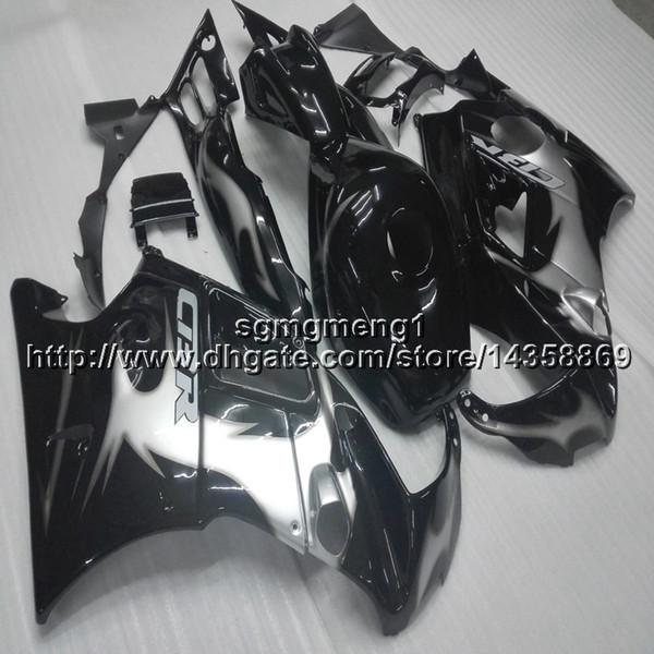 23 renkler + Vidalar gümüş siyah Vücut Kiti HONDA CBR 600F3 1995-1996 için motosiklet panelleri CBR600F3 1995 1996 ABS Plastik motor kaporta