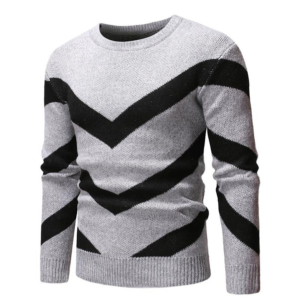 2019 Spring Autumn Men\u0027S Sweaters Guys Boys Cotton Hip Hop Patchwork  Stitching Sweaters Male Casual Warm Sweater 2019 From Odeletta, $25.24