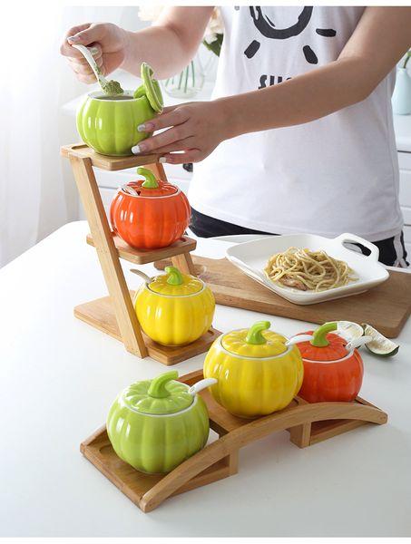 suculenta sembradora de bambú Soporte de la planta Estante para 3 macetas de aire Sembradoras de jardinería Sembradora de macetas Stand con macetas macetas de bonsai