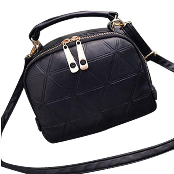 Maison Fabre Fashion Handbags Women Messenger Feminina Shoulder Bag Lady Pu Leather Femme Triangle Zipper Totes Dropshipping
