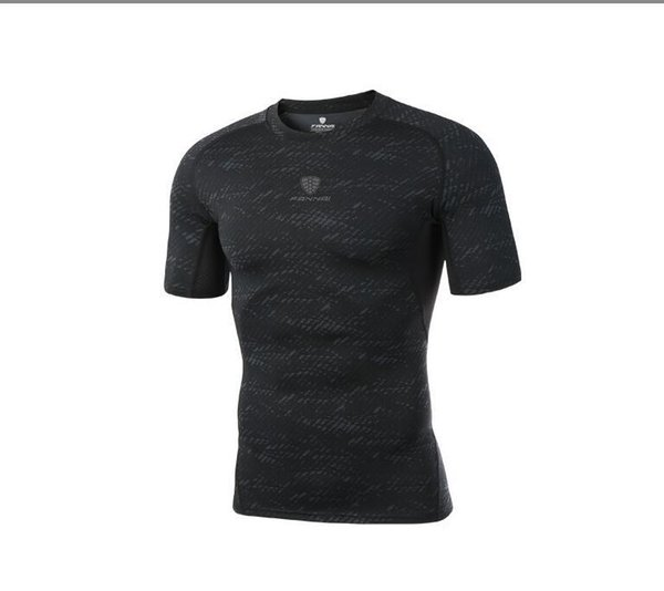 Wholesale PRO new fitness sports bodysuits stretch short-sleeved quick-drying compression T-shirt basketball running training clothes best
