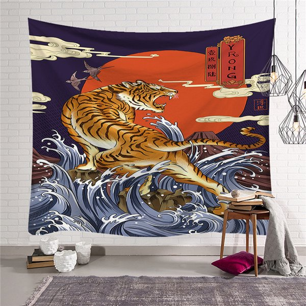 Japan Anime Home Decor Wall Art Tapestry Home Decor Wall Hanging For Living  Room Bedroom Dorm Modern Tapestry W3 New Lo 2 Coastal Tapestry Wall ...