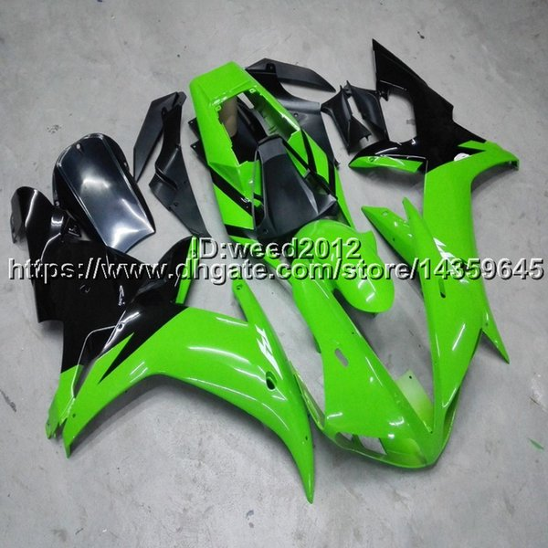 Custom+Screws green ABS Plastic Fairings motorcycle body kit for Yamaha YZF-R1 2002-2003 YZFR1 02-03 motorcycle Fairing hull