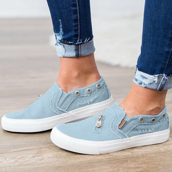 YOUYEDIAN Platform Shoes Flat Bottomed Shoe Zipper Beach Peas Shoes Summer Casual Single Footwear Ladies Sneakers Schuhe Damen Shoes Uk Pumps Shoes