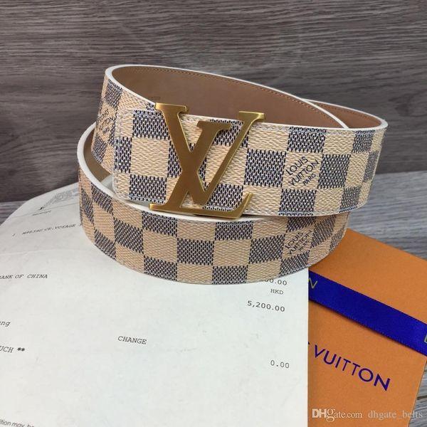 2018 brand mens belt luxury jaguar Designer men's Leather belts for men Luxo strap cinto masculino ceinture H