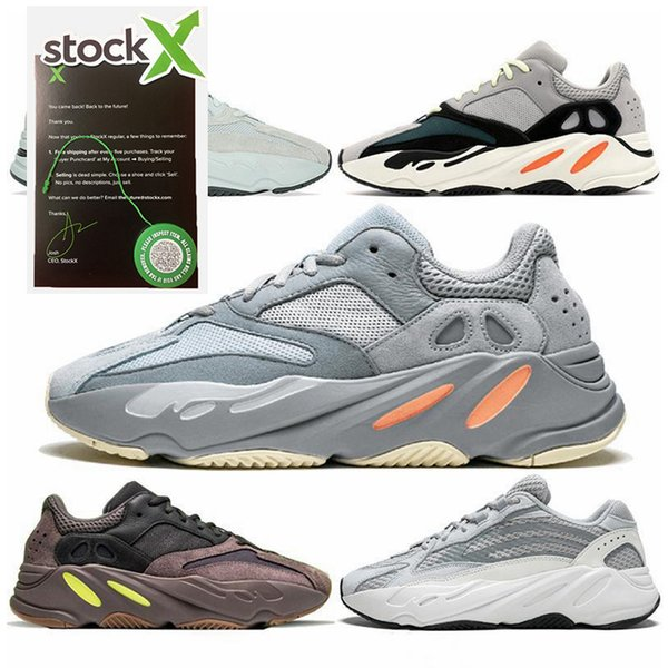 best selling with stock x tags 700 V2 Wave Runner Geode Inertia Mauve Men Women Casual Shoes Designer Sneakers stockx shoes