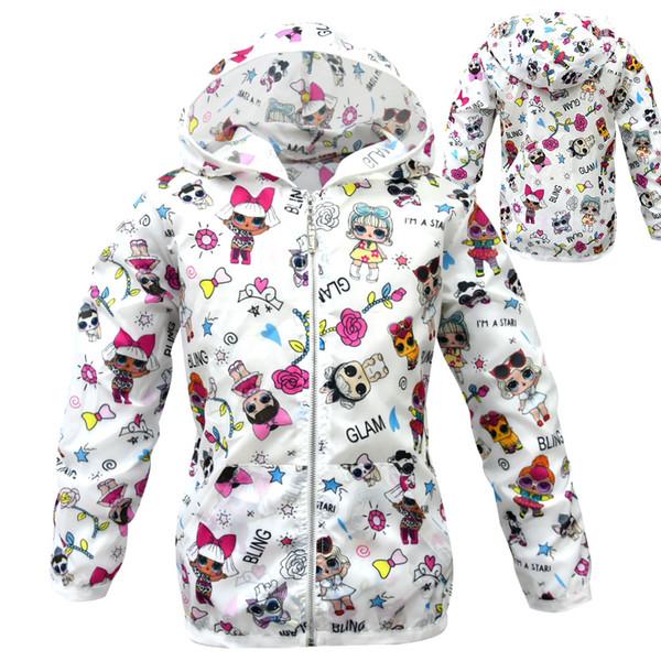 designer clothes baby boy girl sun protection clothing kid summer coat cartoon lol clothes toddler spring jacket child coats