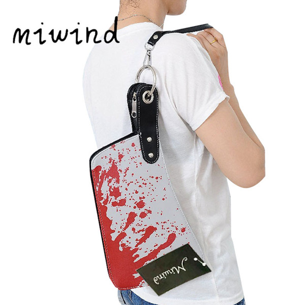 PU Bags for Women Knife Funny Bag Boys Girls Womens' Pouch Halloween Party Carteras Clutch Bag Ladies Dollar Price Wallet