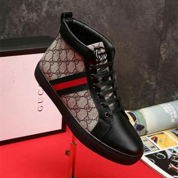 TOP! New Fashion men's Casual canvas shoes Sneakers Shoes male high tops boots man Luxurious design shoes