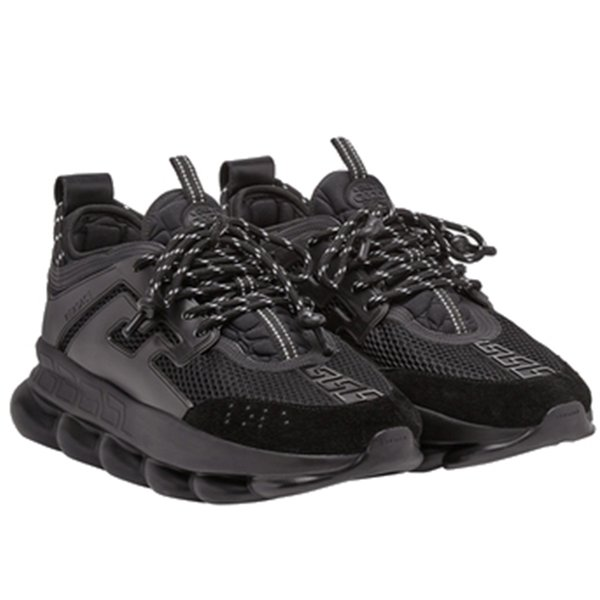 Reacción en cadena 6cm Medusa Shoes RP Link-Relewed Sole zapatillas de deporte Entrenador antideslizante Casual para hombres Mujeres Telas Zapatos casuales con bolsa para el polvo