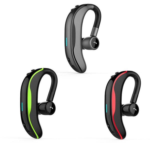 2019 mais recente fone de ouvido fone de ouvido estilo único lado fones de ouvido V4.1 negócios condução sem fio fones de ouvido bluetooth F600