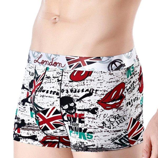 Sous-vêtements de mode pour hommes en sous-vêtements imprimés