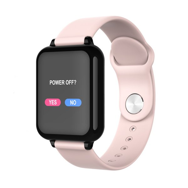 B57 fitness tracker smart watch Waterproof Sport For IOS Android phone Smartwatch Heart Rate Monitor Blood Pressure Functions