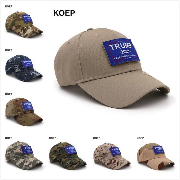 5.11 Donald Trump 2020 MAGA Hat Digital Camo Keep America Great KAG Strapback Baseball Cap Tactical Snapback Sports Outdoor Golf Caps A42604