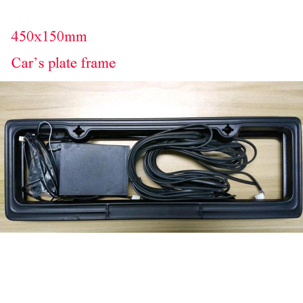 Remote control car Licence plate frame Cover/Automatic Plate Privacy size 45x15cm factory supply directly